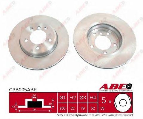 Тормозной диск ABE C3B005ABE