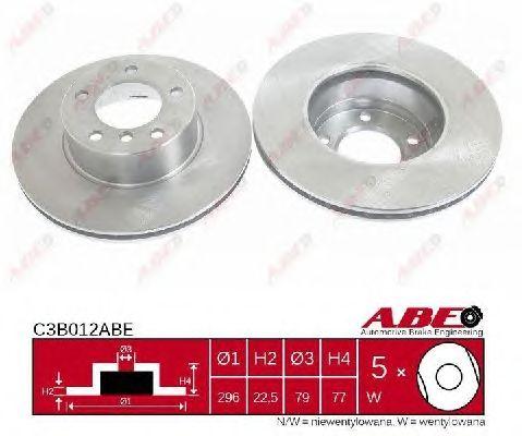 Тормозной диск ABE C3B012ABE