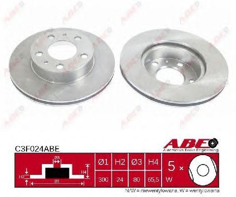 Тормозной диск ABE C3F024ABE