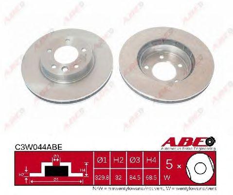 Тормозной диск ABE C3W044ABE