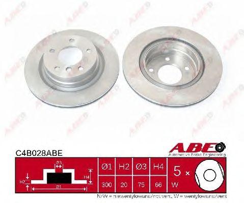 Тормозной диск ABE C4B028ABE