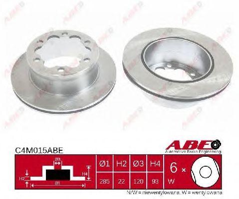 Тормозной диск ABE C4M015ABE