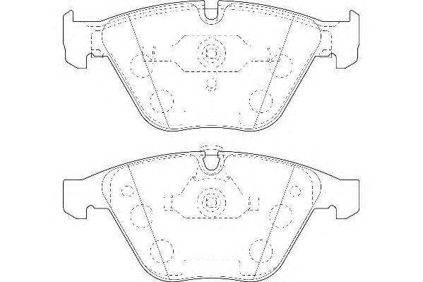 Тормозные колодки WAGNER WBP23312A