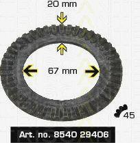 Сигнальный диск АБС TRISCAN 8540 29406