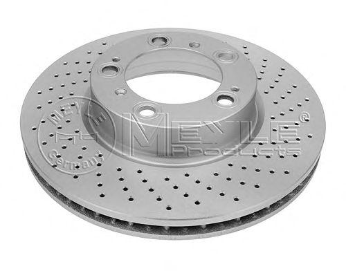 Тормозной диск MEYLE 415 521 0003/PD