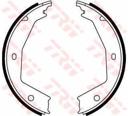 Тормозные колодки ручника TRW GS8668