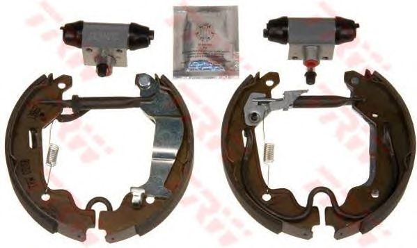 Тормозные колодки TRW GSK1688