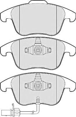 Тормозные колодки QH International BP1647