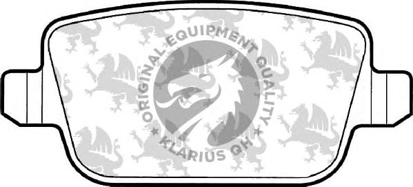 Тормозные колодки QH International BP1557