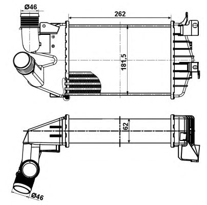 Интеркулер NRF 30307
