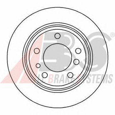Тормозной диск A.B.S. 15872