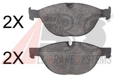 Тормозные колодки A.B.S. 37807