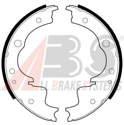 Тормозные колодки A.B.S. 8951