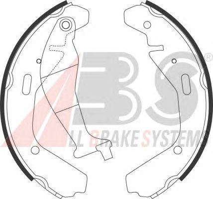 Тормозные колодки A.B.S. 9151
