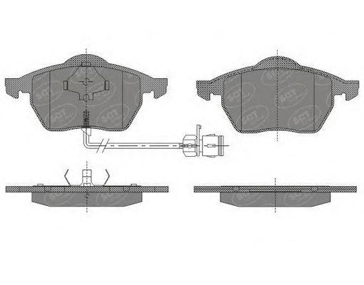 Тормозные колодки SCT Germany SP 631