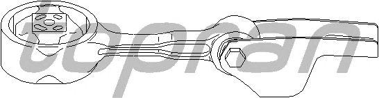 Подушки КПП TOPRAN 110 445