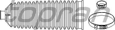 Пыльник рулевой рейки TOPRAN 304 049