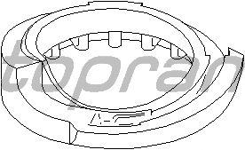 Крепление рессоры TOPRAN 108 031
