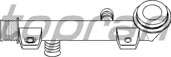Фланец охлаждающей жидкости TOPRAN 501 149