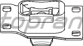 Подушки КПП TOPRAN 301 805