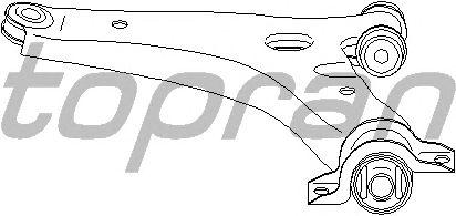 Рычаг подвески TOPRAN 302 470