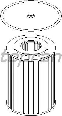 Масляный фильтр TOPRAN 401 006