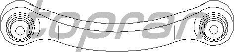 Рычаг подвески TOPRAN 401 080
