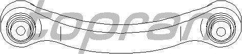 Рычаг подвески TOPRAN 401 081