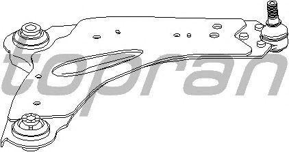 Рычаг подвески TOPRAN 207 114