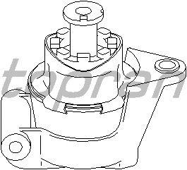 Подушка двигателя TOPRAN 205 613