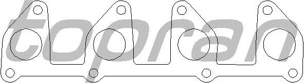 Прокладка выпускного коллектора TOPRAN 201 690