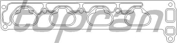 Прокладка впускного коллектора TOPRAN 206 184
