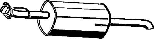 Глушитель ASMET 05.161