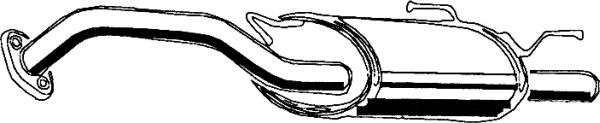 Глушитель ASMET 14.005