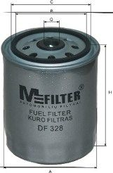 Топливный фильтр MFILTER DF 328