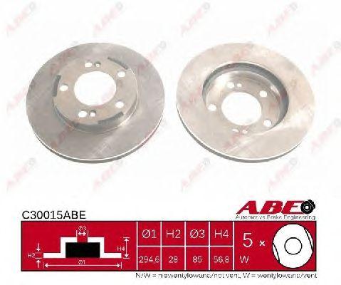 Тормозной диск ABE C30015ABE