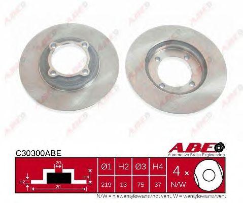 Тормозной диск ABE C30300ABE