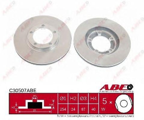 Тормозной диск ABE C30507ABE