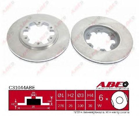 Тормозной диск ABE C31044ABE