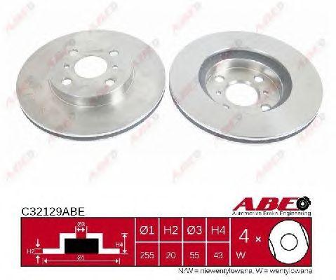 Тормозной диск ABE C32129ABE