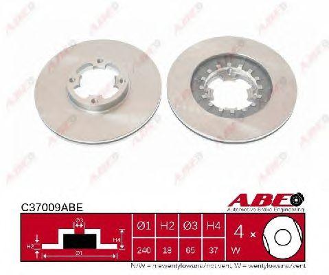 Тормозной диск ABE C37009ABE