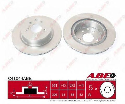 Тормозной диск ABE C41044ABE