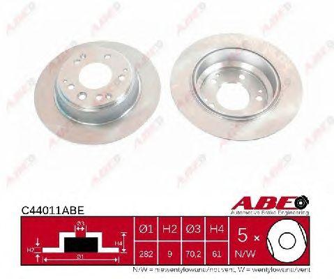 Тормозной диск ABE C44011ABE