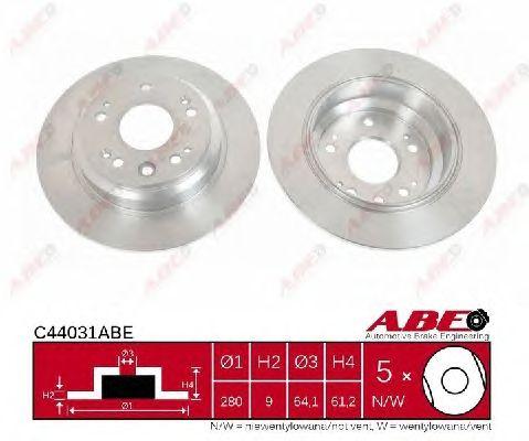 Тормозной диск ABE C44031ABE