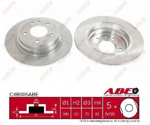 Тормозной диск ABE C4B005ABE
