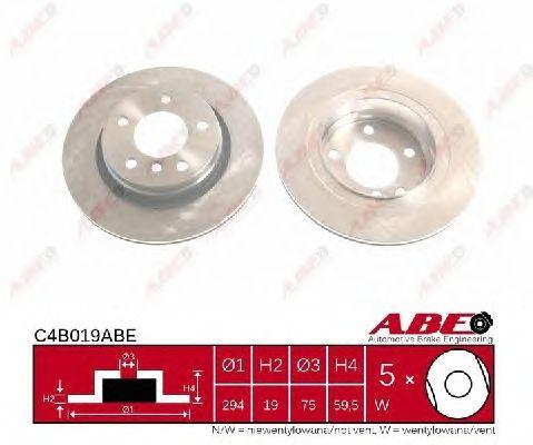 Тормозной диск ABE C4B019ABE