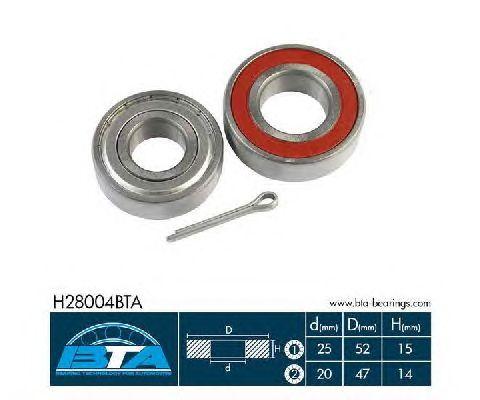 Ступичный подшипник BTA H28004BTA