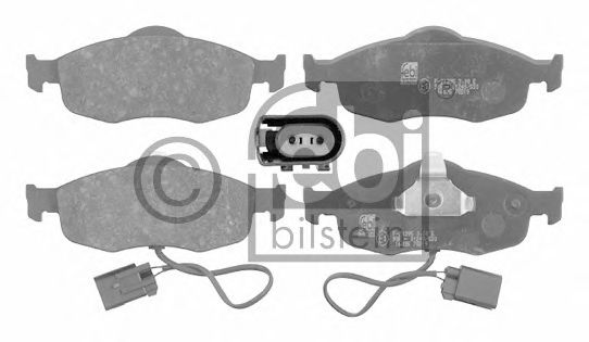 Тормозные колодки FEBI BILSTEIN 16035