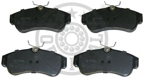 Тормозные колодки OPTIMAL 9689
