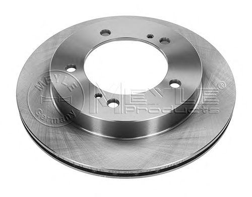 Тормозной диск MEYLE 33-15 521 0003